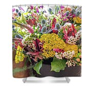 Spring In A Bucket Shower Curtain