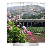 Spring In Bethlehem Shower Curtain