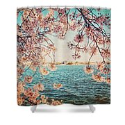 Spring In Dc Shower Curtain