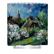 Spring In Fays Famenne Shower Curtain