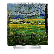 Spring In Herock Shower Curtain
