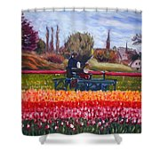 Spring In Holland3 Shower Curtain