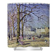 Spring In Hyde Park Shower Curtain