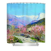 Spring In Italy Shower Curtain