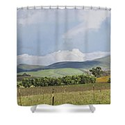 Spring In Livermore Shower Curtain