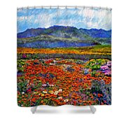 Spring In Namaqualand Shower Curtain