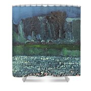 spring in Netherby Shower Curtain