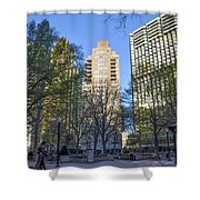 Spring In Philadelphia - Rittenhouse Square Shower Curtain