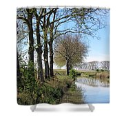 Spring In Sete, Montpellier, France Shower Curtain