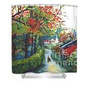 Spring In Southern China Shower Curtain