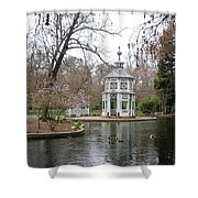 Spring In The Aranjuez Gardens Spain Shower Curtain