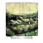 Spring In The Ardennes Belgium Shower Curtain