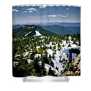 Spring In The Cascades Shower Curtain