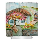 Spring In The Kingdom Shower Curtain