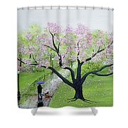 Spring In The Park Shower Curtain
