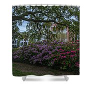 Spring In White Point Gardens Shower Curtain