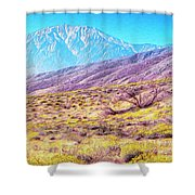 Spring In Whitewater Canyon Shower Curtain