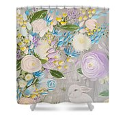 Spring Into Easter Shower Curtain