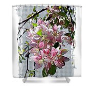 Spring Is Melting Away Shower Curtain