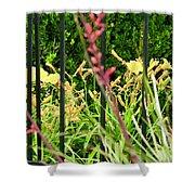 Spring Jumble Shower Curtain