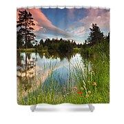 Spring Lake Shower Curtain