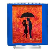 Sizzling Love Shower Curtain