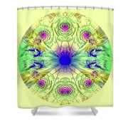 Spring Meditation Shower Curtain