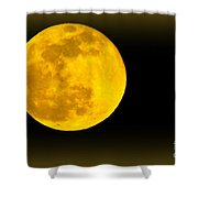 Spring Moon Rising Shower Curtain