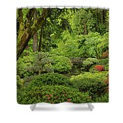 Spring Morning In The Garden Shower Curtain