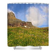 Spring Mountain Shower Curtain