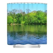 Spring On Barbadoes Island Shower Curtain