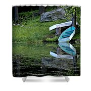 Spring On The Lake Shower Curtain