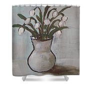 Spring On The Table Shower Curtain
