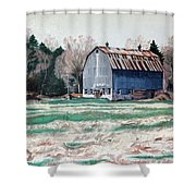 Spring On The Thousand Island Parkway Shower Curtain