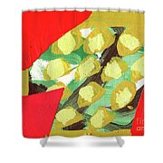 Spring Painting 2 Shower Curtain