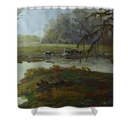 Spring Pasture Shower Curtain
