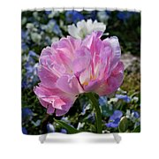 Spring Petals Shower Curtain
