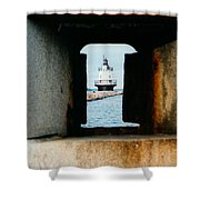 Spring Point Ledge Shower Curtain