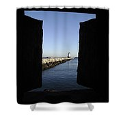 Spring Point Ledge Light - Portland Mane Usa Shower Curtain