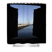 Spring Point Ledge Light - Portland Mane Usa Shower Curtain