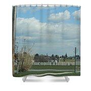 Spring Recess Joy Shower Curtain