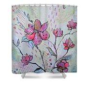 Spring Reverie IIi Shower Curtain
