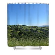Spring Ridge Shower Curtain