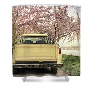Spring Scenery Shower Curtain
