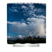 Spring Skies Of The Rogue Valley Shower Curtain