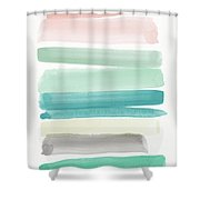 Spring Sky- Art By Linda Woods Shower Curtain