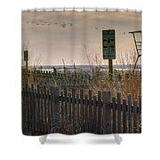Spring Solitude Shower Curtain