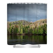 Spring Storm Coming Shower Curtain