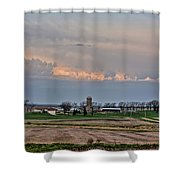 Spring Storms Farm 2 Shower Curtain