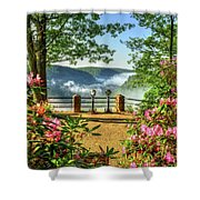 Spring Time At Colton Point State Park Shower Curtain